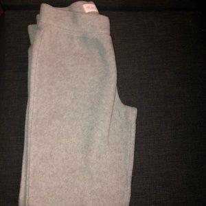 Fleece grey pants
